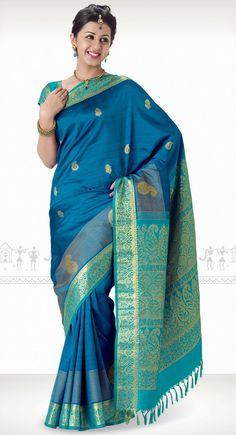 Chandushree Kanchipuram Saree http://www.harinisilks.com/chandushree-kanchipuram-saree.html