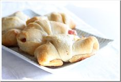Bacon & Onion Crescents | Doughmesstic
