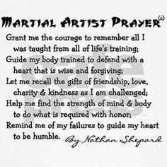 Martial arts instructor supplies