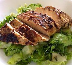 Buttermilk-Brined Chicken Breast Salad