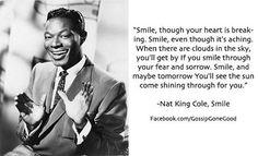 Nat King Cole, Smile
