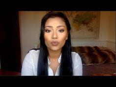 Powder Contour + Highlight on Medium / Dark skin Ft. MAC Whirl matte lipstick & Banana Powder - Lets Learn Makeup Matte Lipstick, Liquid Lipstick, Banana Powder Makeup, Mac Whirl, Makeup To Buy, Learn Makeup, Powder Contour, Lip Colors