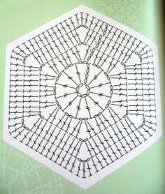 Crochet Motif Patterns, Crochet Blocks, Crochet Stitches Patterns, Crochet Squares, Crochet Granny, Granny Squares, Crochet Art, Crochet Doilies, Crochet Flowers