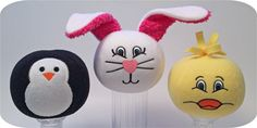 Embroider & Sew :: Snowball Animals Set 1 - Embroidery Garden In the Hoop Machine Embroidery Designs