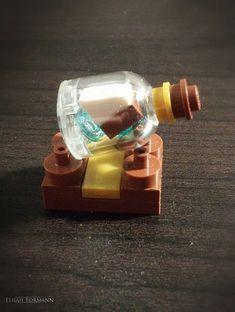 Miniature Ship in a Bottle