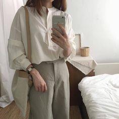 Image by tatyanka_ivanova Korean Girl Fashion, Ulzzang Fashion, Korean Street Fashion, Aesthetic Fashion, Look Fashion, Aesthetic Clothes, Fashion Outfits, Aesthetic Outfit, Cute Casual Outfits