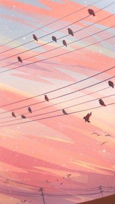 Sight Reading Framed Art Print by Zandraart - Vector Black - Anime Scenery Wallpaper, Aesthetic Pastel Wallpaper, Cute Wallpaper Backgrounds, Aesthetic Backgrounds, Cute Wallpapers, Aesthetic Wallpapers, Screen Wallpaper, Wallpaper Quotes, Wallpaper Wallpapers
