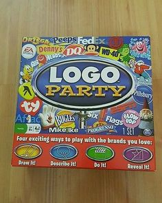 Logo Party Board Game