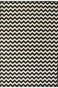 fun for a kids room  Rugs USA Home Value Chevron Ivory Rug  Item #: 200OWCHV01-P
