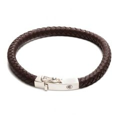 Rebel and Rose Absolutely Leather Square Earth Armband RR-L0010-S € 69,50