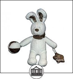 Doudou conejo blanco balón estrella Bandana-Nicotoy Simba-26cm cascabel 579/0260  ✿ Regalos para recién nacidos - Bebes ✿ ▬► Ver oferta: http://comprar.io/goto/B01KO9NQ6Q