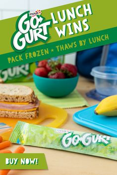 Pack Go-GURT Frozen and it'll thaw by lunch. That's a lunch win! Easy Chicken Recipes, Pork Recipes, Crockpot Recipes, Diet Recipes, Healthy Recipes, Natural Cough Remedies, Herbal Remedies, Natural Cures, Sangria Recipes