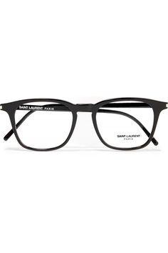 6f8fc9592f37 Saint Laurent - Square-frame acetate optical glasses