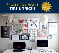 7 Gallery Wall Tips & Tricks – Effortlessly create a curated gallery wall with these great tips!