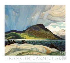Lake Wabagishik Art Print by Franklin Carmichael at Art.com