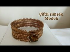 jewelry lovers, This time we will share with you the jewelry model Beaded Double Model Bracelet Making. I hope you will like it. Let's make some different bracelets. Jewelry Tags, Jewelry Crafts, Beaded Jewelry, Beaded Bracelets, Gold Jewelry, Garnet Jewelry, Amethyst Jewelry, Diy Schmuck, Schmuck Design
