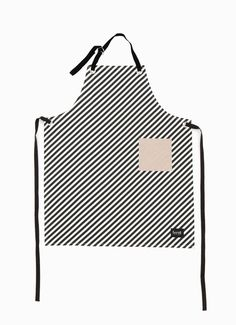 Clever Spaces — Black Stripe Apron