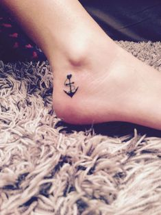 #anchor #ankle #tattoo #girly #tattoos