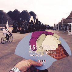 Oggi a #expo2015 è la #festadelgelato  Simbolo dell'estate e quindi di Ferragosto i vari padiglioni lo presenteranno in tantissimi gusti: anche al baobab! (Foto: @gabrieleconta)  #buonferragosto #expo2015milano #expo #milano #expomilano #milano #gelato #icecream #ferragosto #estate #summer2015 by lacronacaitaliana