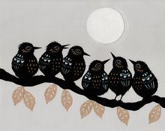 On A Limb - Cut Paper Art | Flickr - Photo Sharing!