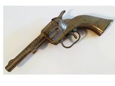 Vintage Gun Toy Hubley PAL by ClearlyRustic on Etsy, $12.00