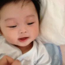 Asian baby GIF set via Tumblr!