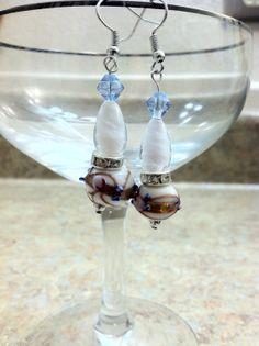Lamp works earrings by ReadyByDawn on Etsy, $10.00