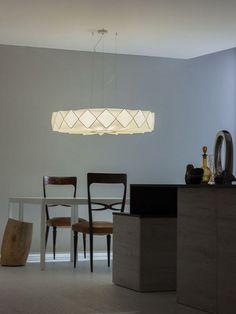 FABRIC PENDANT LAMP GRESY GRESY COLLECTION BY LUCENTE - GRUPPO ROSTIROLLA | DESIGN CAMBI SCATENA TURINI ARCHITETTI