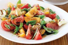 Marinated tomato salad with bocconcini main image