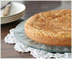 Délices d'Orient: Gâteau basque à la confiture de cerises noires