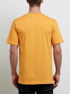 Volcom Crisp Euro Short Sleeve Tee - Heather Grey Xl