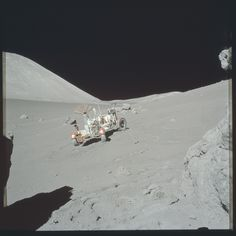 Apollo 17 Hasselblad image from film magazine 140/E - EVA-3