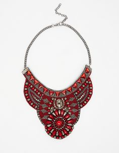 Image 1 - ASOS - Collier richement orné avec perles fantaisie