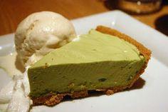 Recetas Japonesas en español!: Matcha rare chessecake - Pastel de queso con té verde