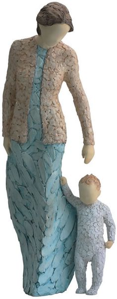 First Steps-Mother and Baby Figurine Available at AllSculptures.com