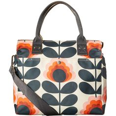 Summer Flower Zip Messenger ❤ liked on Polyvore featuring bags, messenger bags, orla kiely shoulder bag, crossbody messenger bag, white crossbody, crossbody bags and floral print messenger bag