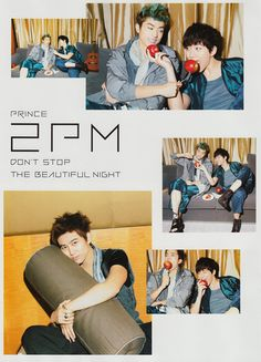 2PM  -HANAKO, No.1035, PRINCE 2PM: Don't Stop The Beautiful Night, FEBRUARY 2013