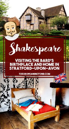 As you would expect, Shakespeare is Stratford's pride and joy and his presence is somewhat ubiquitous in these parts, even 400 odd years after his passing, as his most notable quotes are scattered across town almost like a scavenger hunt in waiting — with the shining star being the home where he was born.