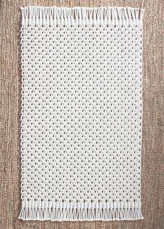VENTA Cuerda del algodón macramé alfombra 100% en por JoJansenCo
