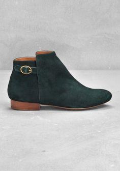 Velvet ankle boots / &otherstories