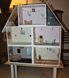 1000 images about maison playmobil on pinterest - Maison playmobil en bois ...