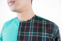 Details TOSCA Long Tartan in Half 'Le Meridien'  #menfashion #ghaisaniyara #fashion
