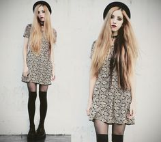 Jenn Potter - Made By Me Dress - I'm in the basement, you're in the sky | LOOKBOOK