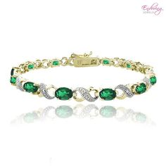 I found this amazing Created Green Quartz & Genuine Diamond Accent X-Link Bracelet at nomorerack.com for 73% off.  On sale today May 15, 2013  $19.00 next 10 hours ***cg** I have several of these...love them..buying this one