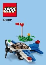 Lego Racing Plane Parts & Instructions Sep 2014 Monthly Mini Model Build - 40102