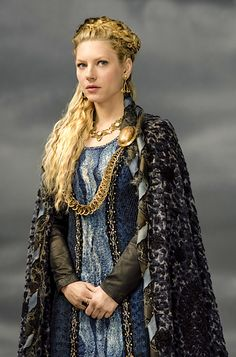 "Katheryn Winnick as Lagertha in ""Vikings"" (2013-)"