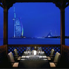 Pierchic Restaurant at Al Qasr Hotel Location: Dubai, UAE