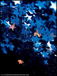 Falling Stars by *littlemewhatever on deviantART