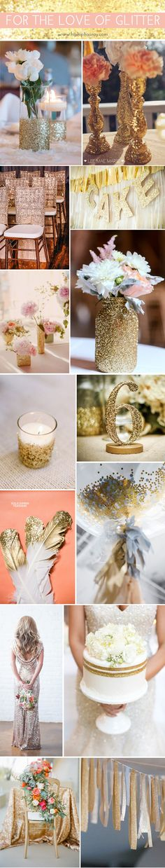 For the love of glitter! Sparkly event inspiration | Hip Hip Hooray