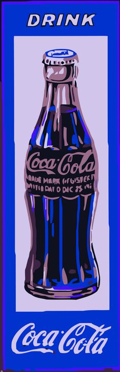 Andy Warhol Coke Bottle Painting | Andy Warhol